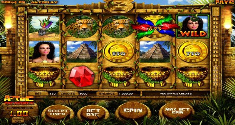 Aztec Treasure Slot Machine Review