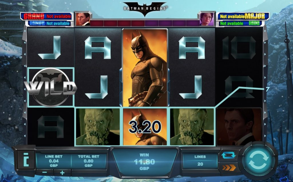 Batman Begins Slot Machine Review