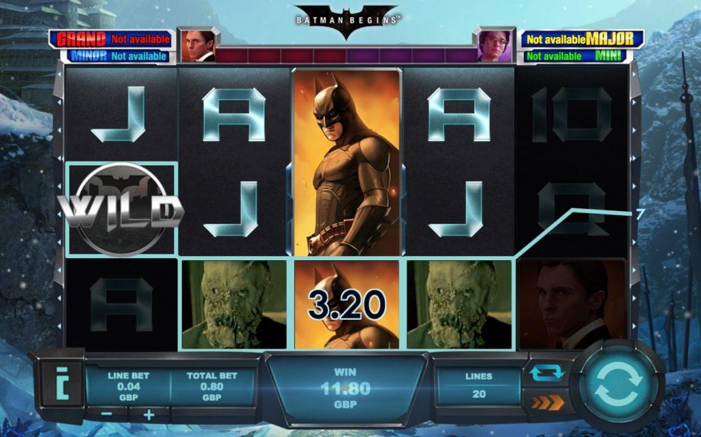 Batman Begins Slot Machine Review