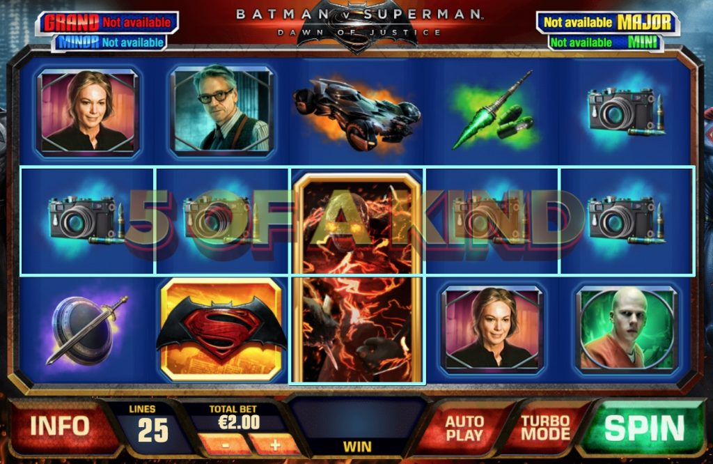 Batman v Superman: Dawn of Justice Slot Machine Review
