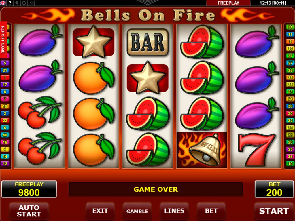 Bells On Fire Slot Machine Review