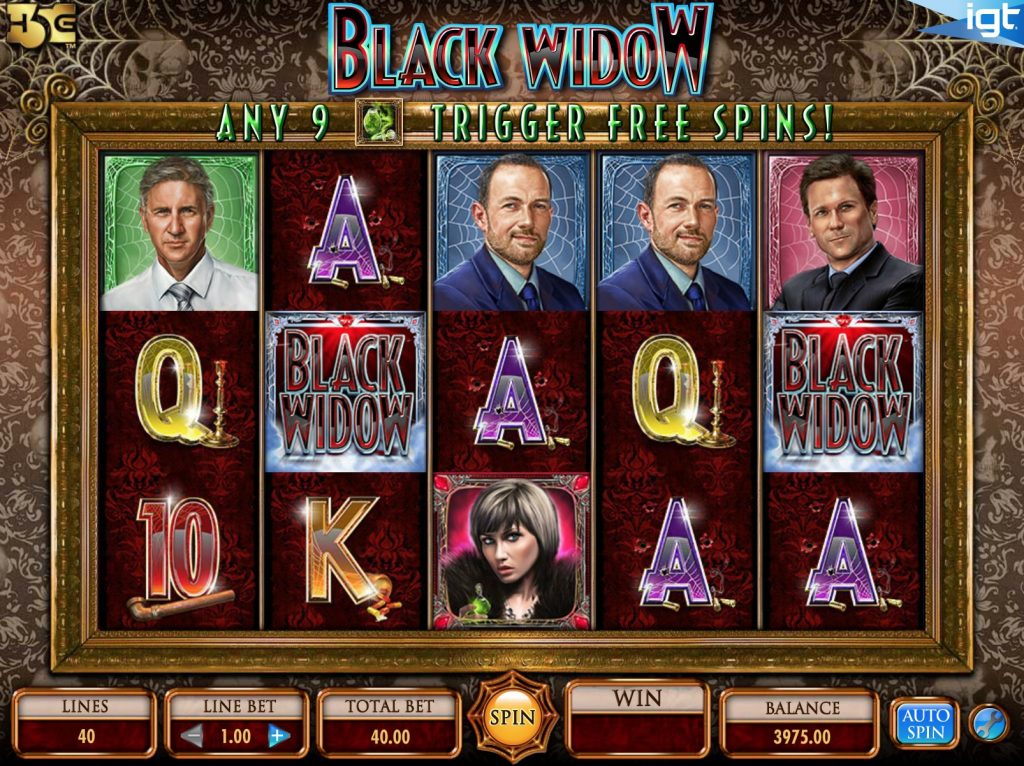 Black Widow Slot Machine Review