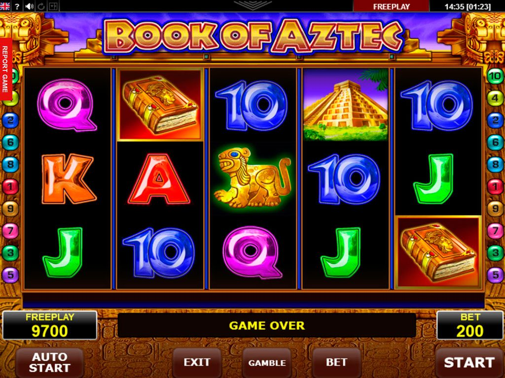Book Of Aztec Slot Machine Review