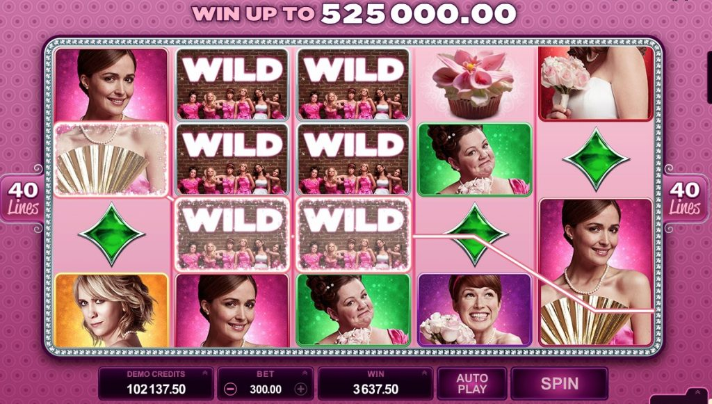 Bridesmaids Slot Machine Review