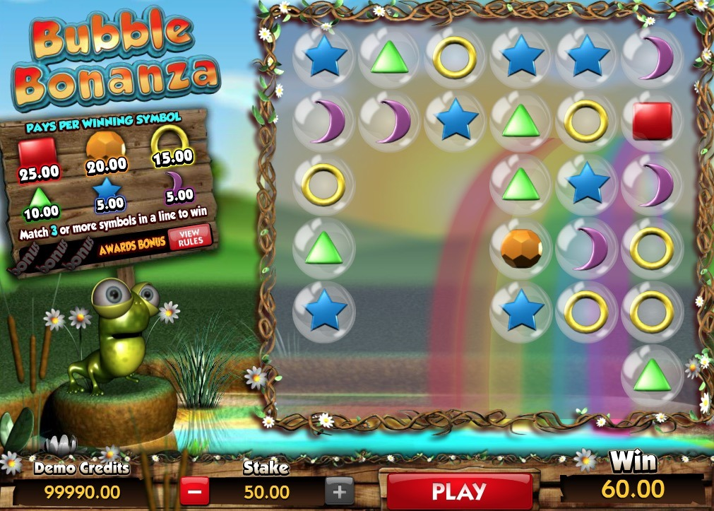Bubble Bonanza Game Online