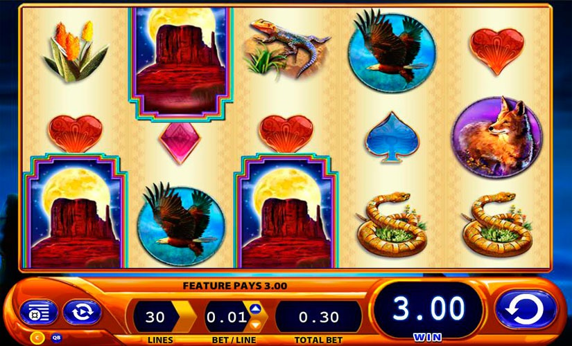Buffalo Spirit Slot Machine Review