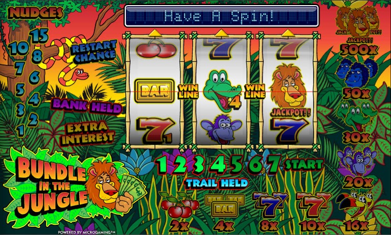 Bundle In The Jungle Slot Machine Online