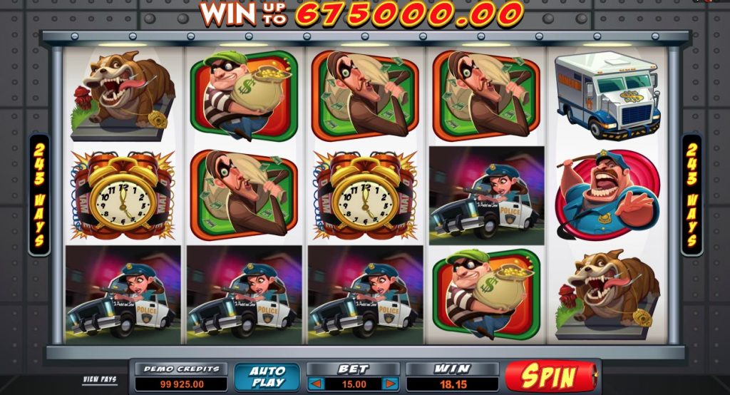 Bust the Bank Slot Game Online