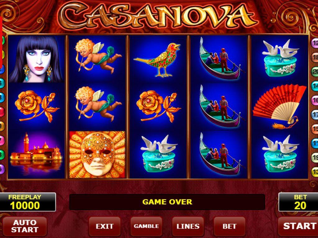 Casanova Slot Machine Review