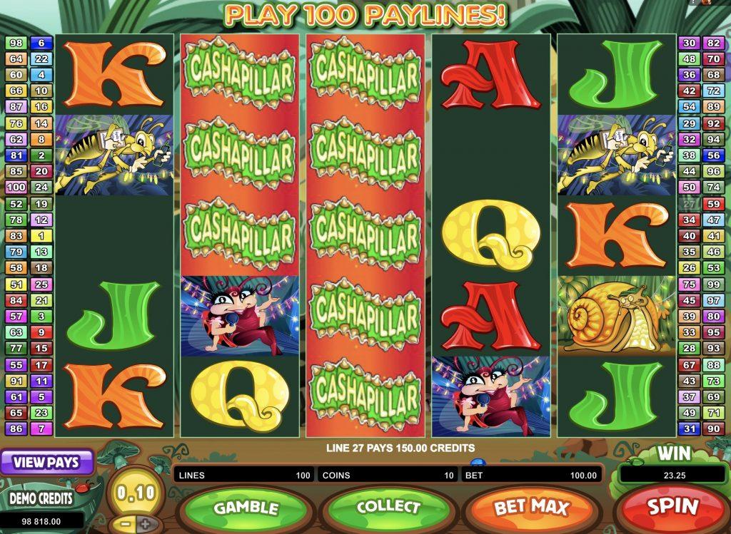 Cashapillar Slot Game Online