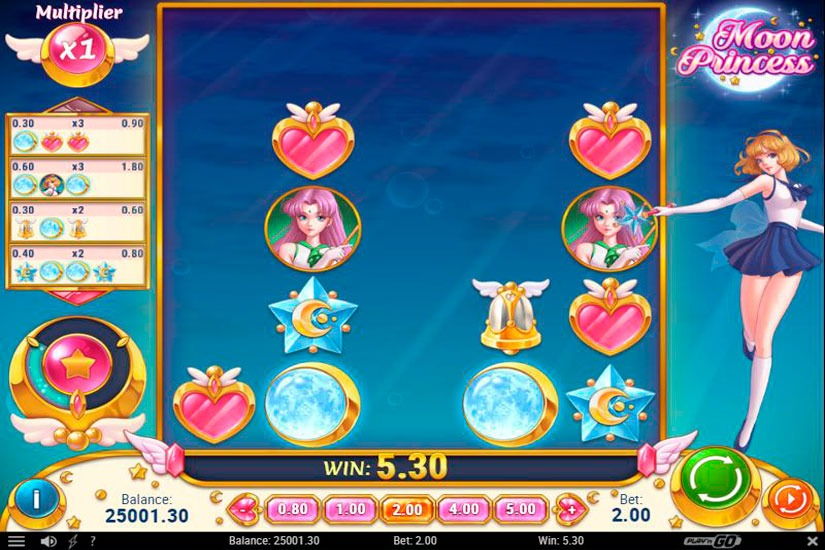Moon Princess Slot Machine Review