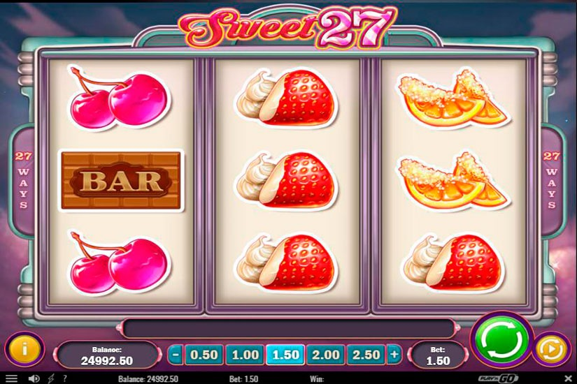Sweet 27 Slot Machine Review