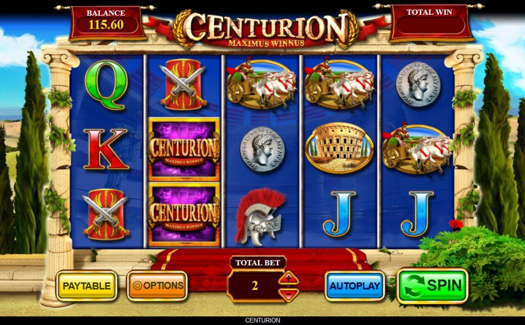 Centurion slot machine
