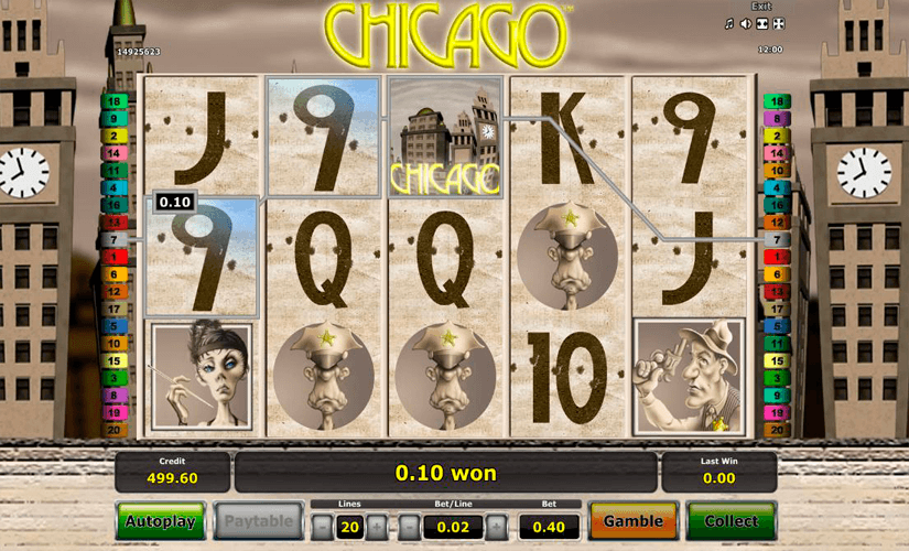 Chicago Slot Machine Online
