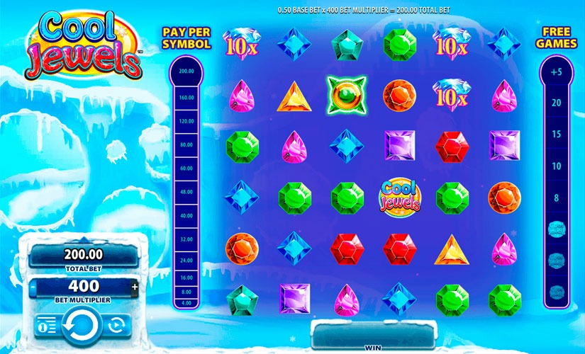 Cool Jewels Slot Machine Review