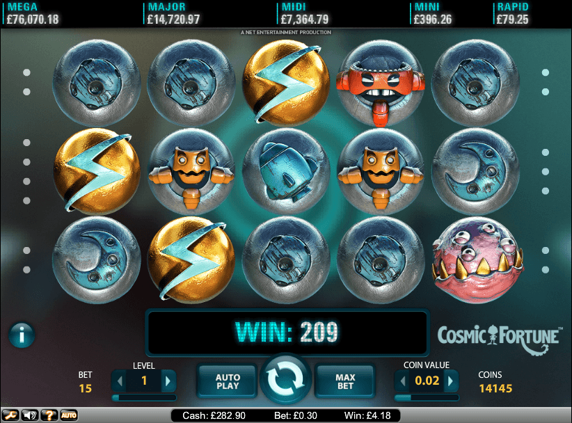 Cosmic Fortune Slot Review