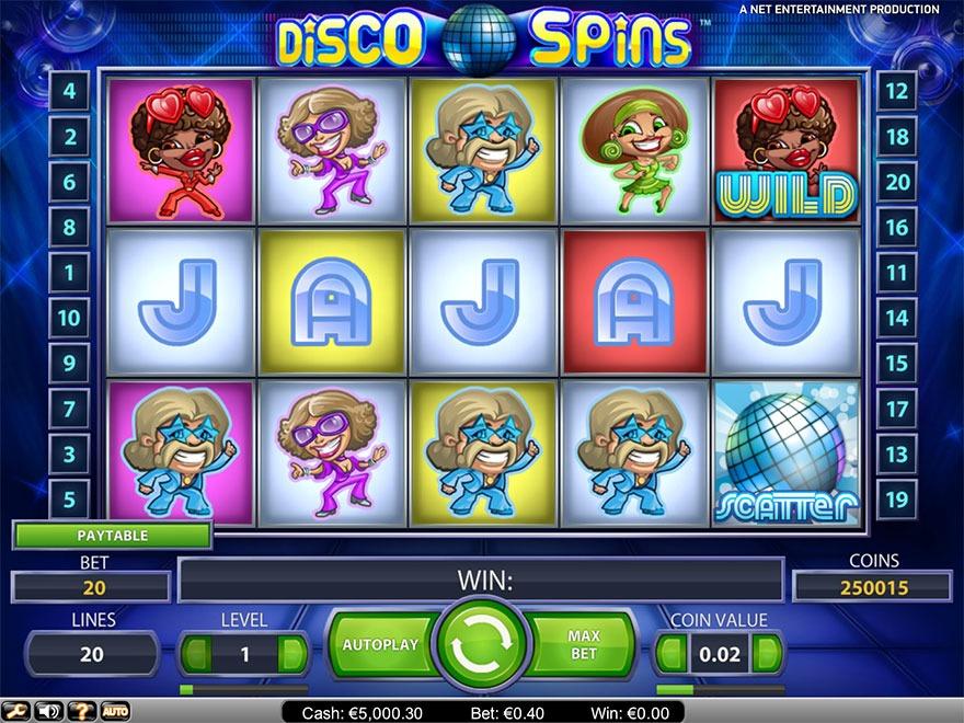 Disco Spins Slot Machine