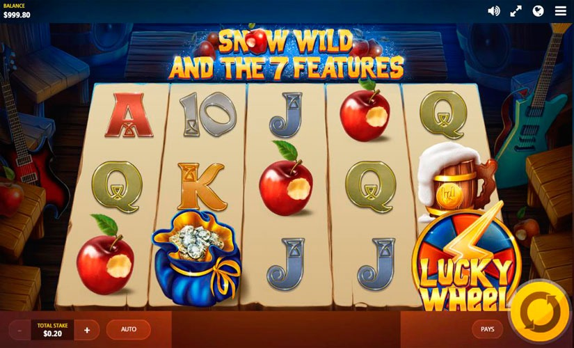 Snow Wild and the 7 Features Slot Machine Online