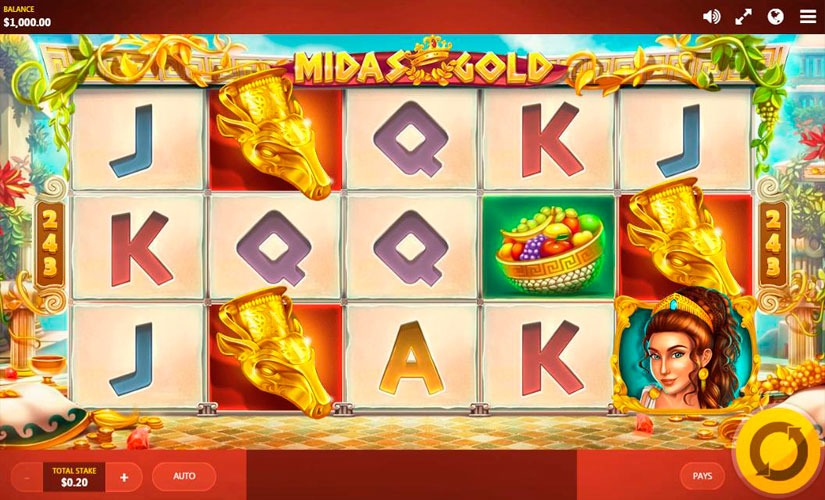 Mida's Gold Slot Machine
