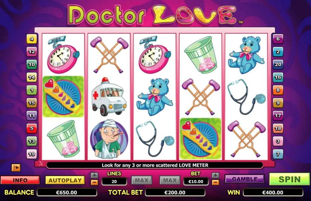 Doctor Love Slot Game Online