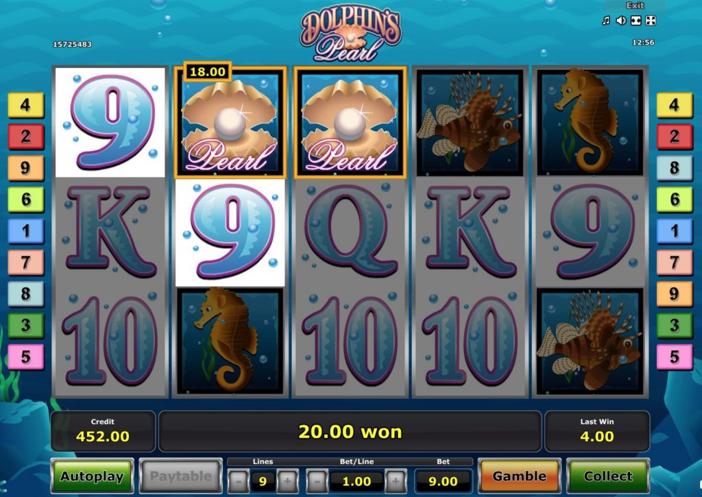Dolphin's Pearl Slot Machine Review