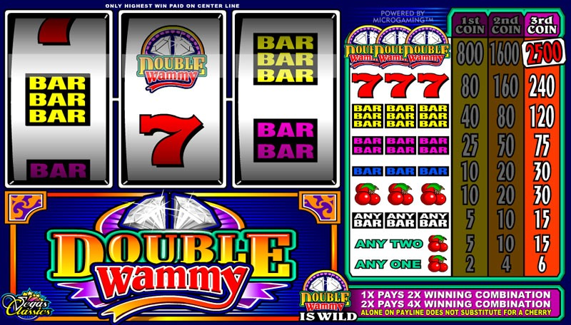 Double Wammy Slot Game Online