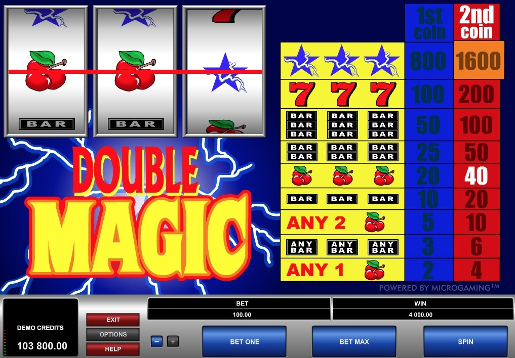 Double Magic Slot Game Online