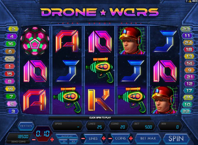 Drone Wars Slot Game Online