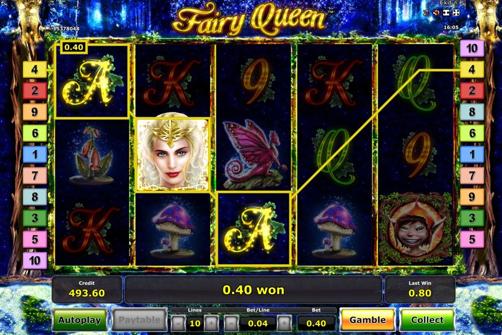 Fairy Queen Slot Machine Review