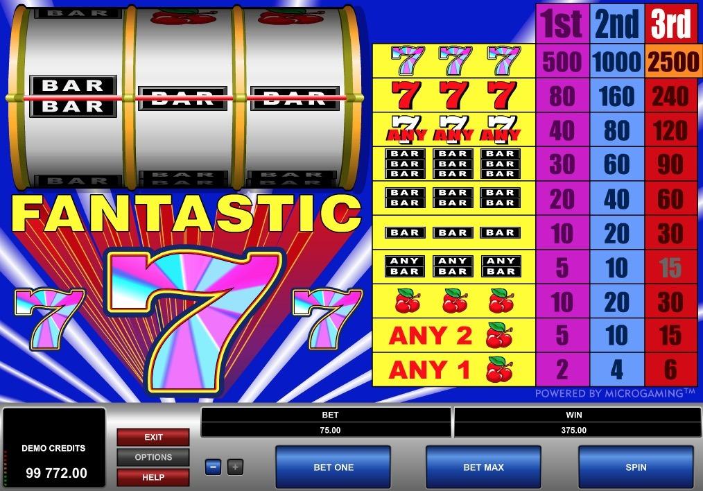 Fantastic 7 Slot Game Online