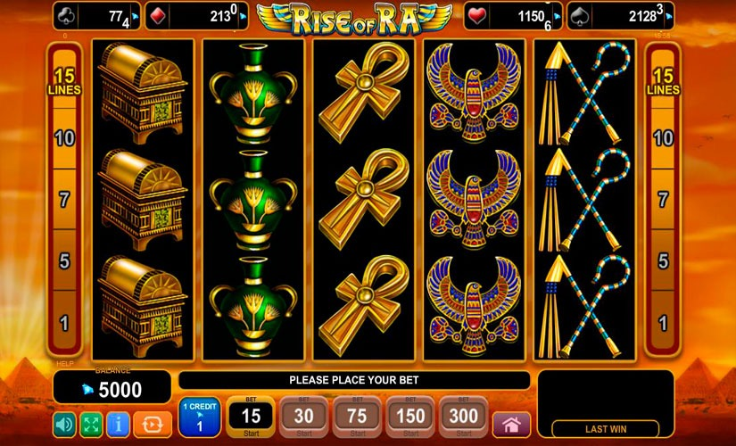 Rise of Ra Slot Machine Review