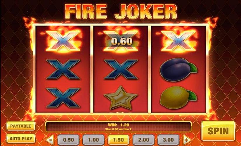 Fire Joker Slot Machine Review