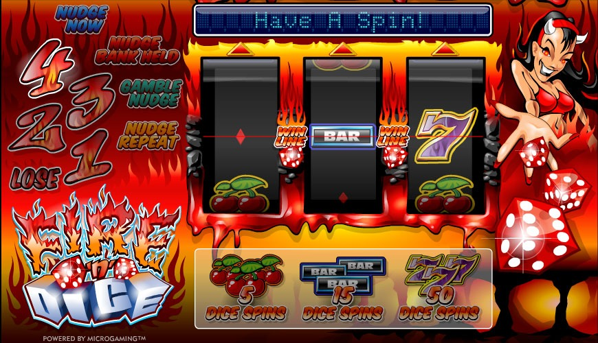 Fire and Dice Slot Game Online