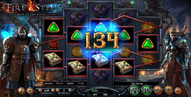 Fire and Steel Slot Machine Review