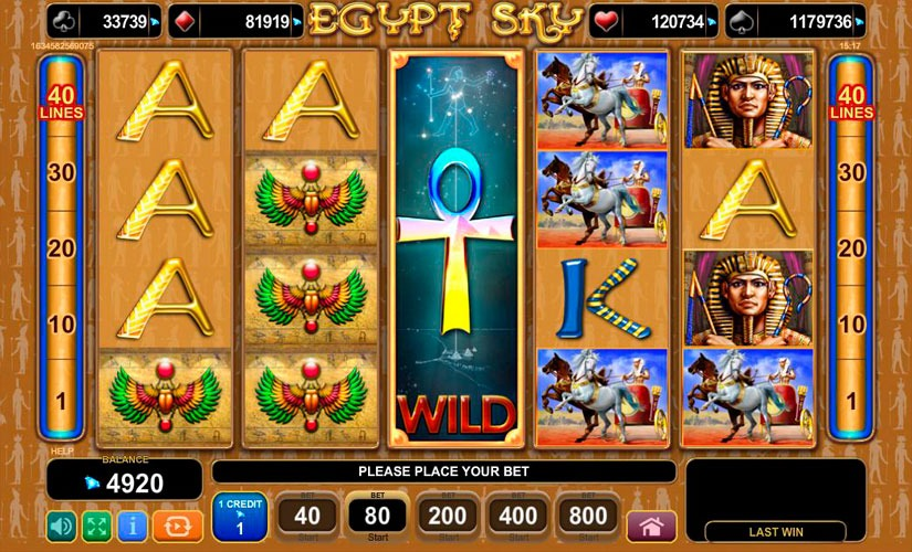 Egypt Sky Slot Machine Review