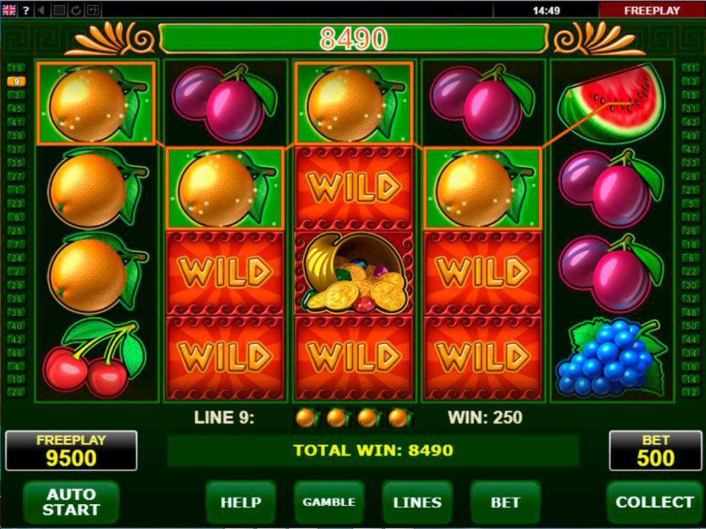 Fortunas Fruits Slot Machine Review