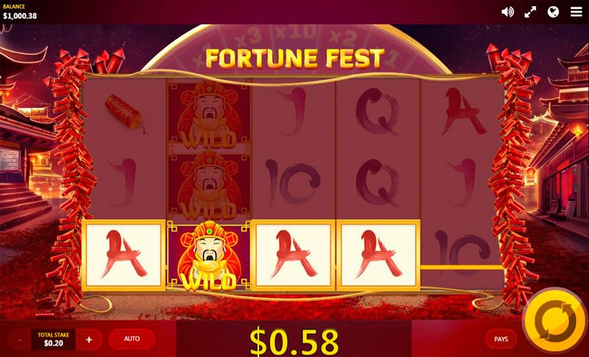 Fortune Fest Slot Machine Online