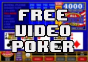 Free Online Video Poker Slot Machines
