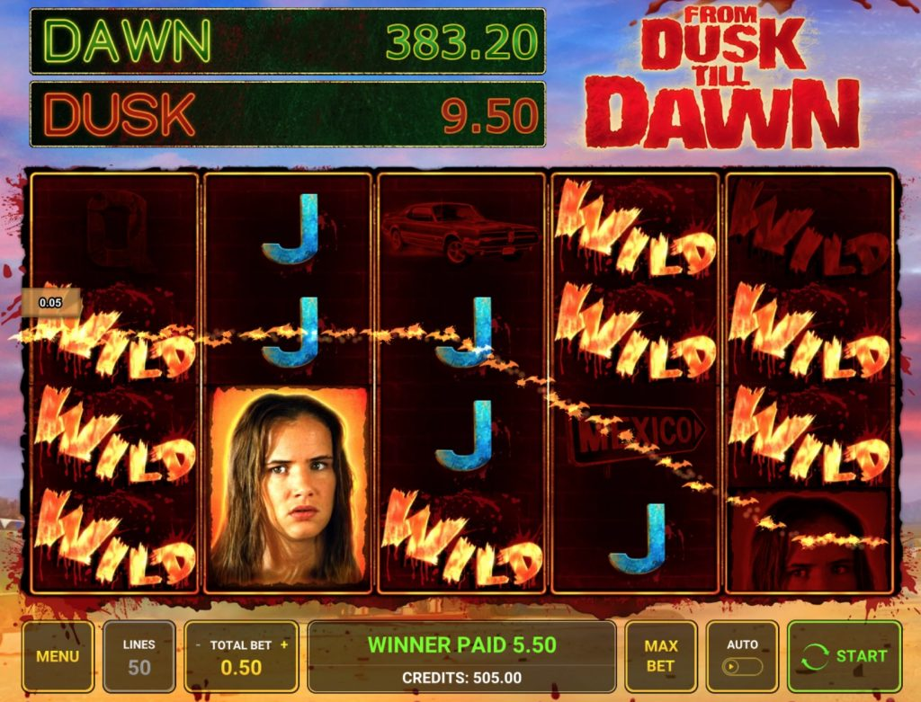 From Dusk Till Dawn Slot Machine Review