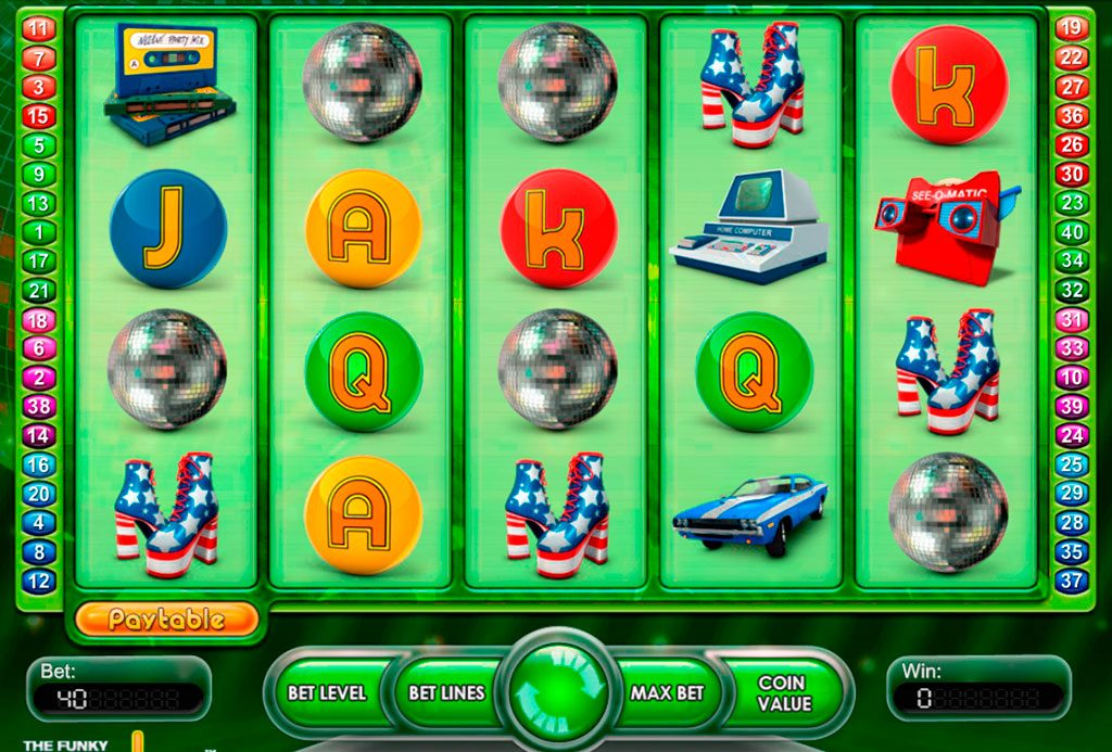 The Funky Seventies Slot Machine Reviews