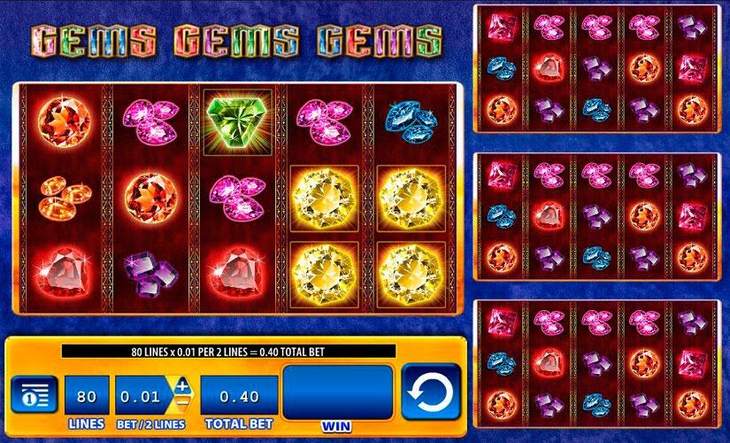 Gems Gems Gems Slot Machine Review