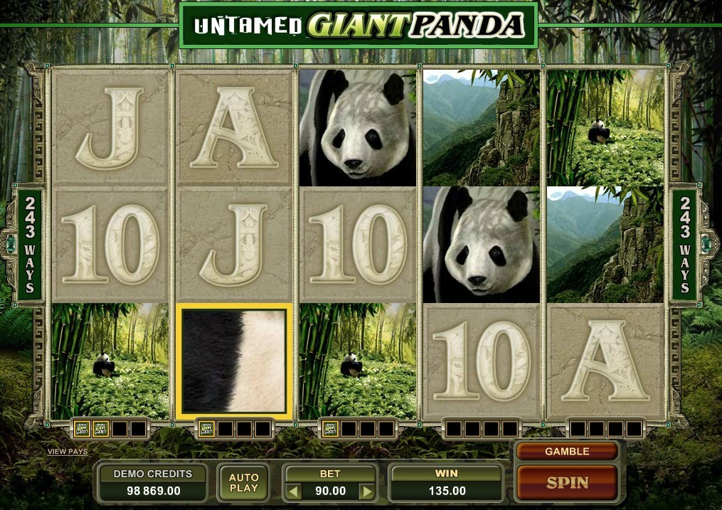 Untamed Giant Panda Slot Game Online