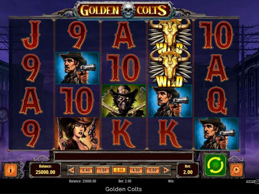 Golden Colts Slot Machine Review