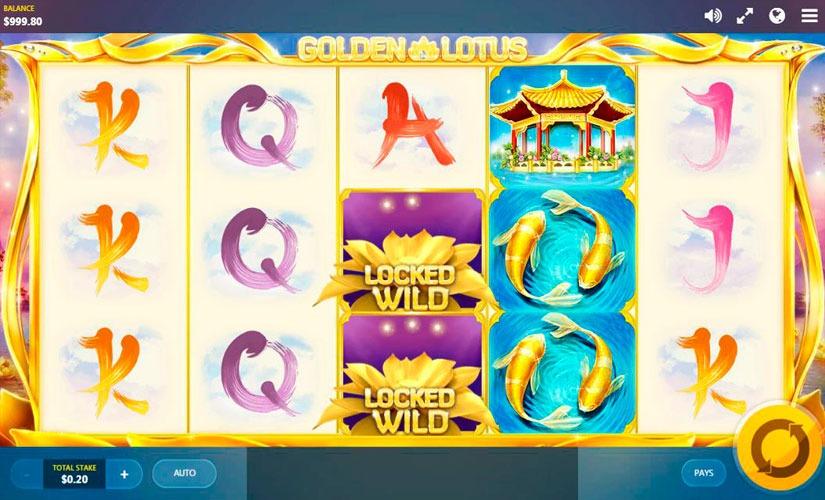 Golden Lotus Slot Machine Online