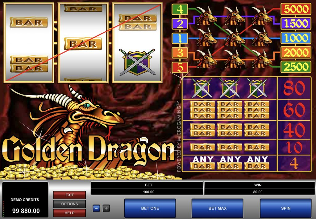 Golden Dragon Slot Game Online