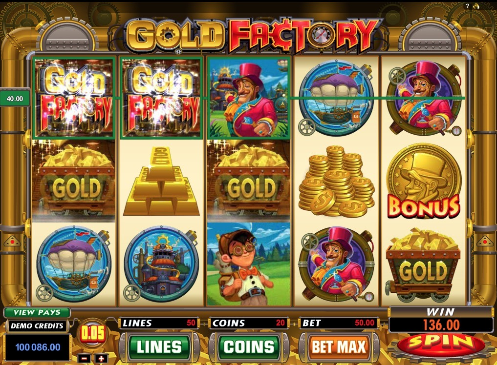 Gold Factory Slot Game Online