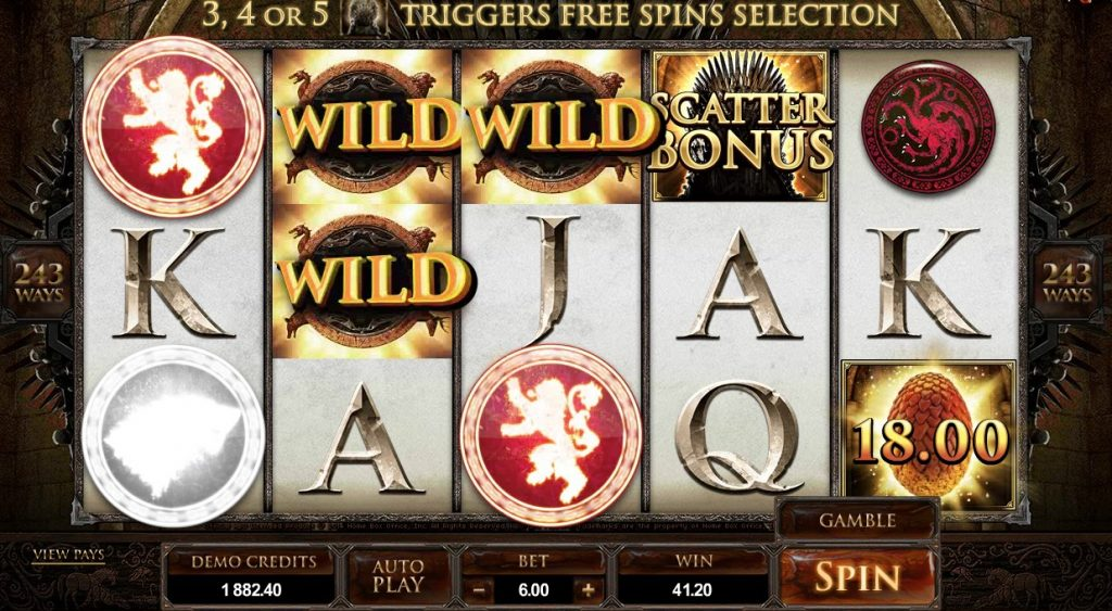Game of Thrones Slot Machine Review