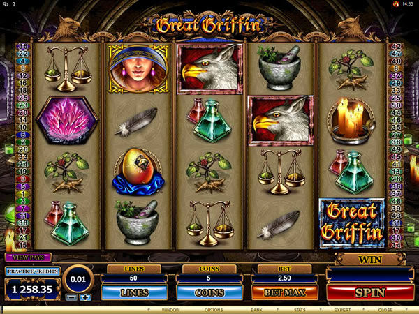 Great Griffin Slot Machine Online
