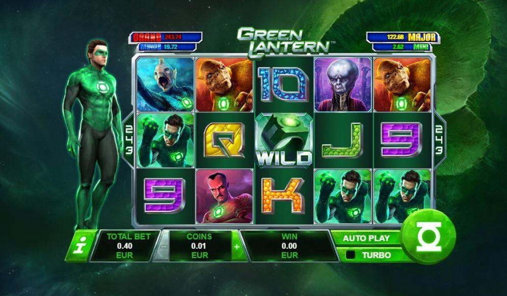 Green Lantern Slot Machine Review