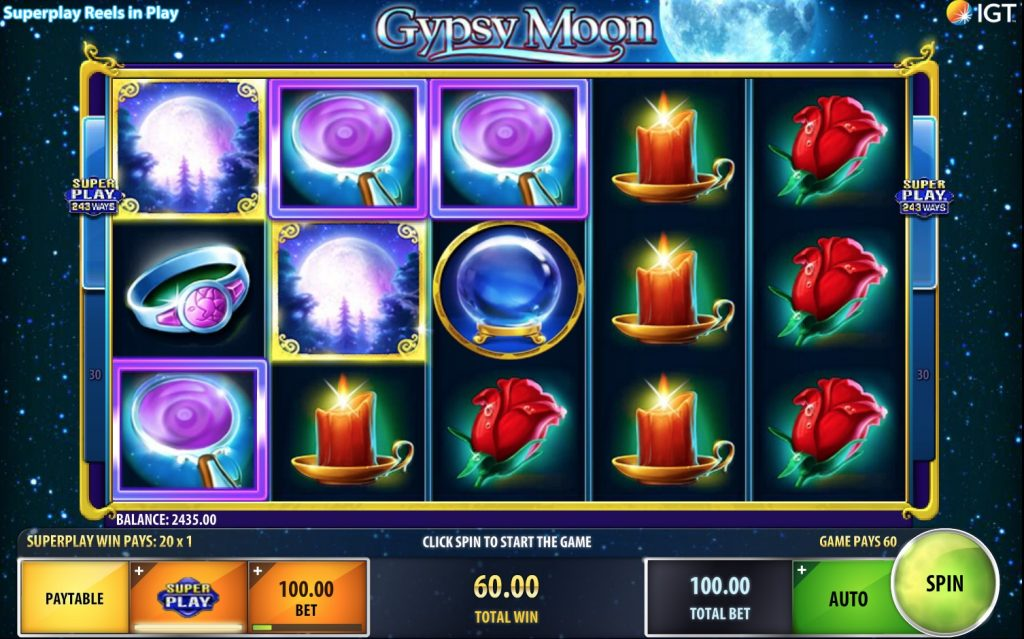 Gypsy Moon Slot Machine Review